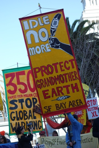 Keystone XL protest. Image: Steve Rhodes