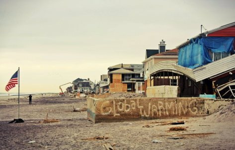 November 19th, 2012: Along the beach in the Rockaways, NY (Image: Jenna Pope)