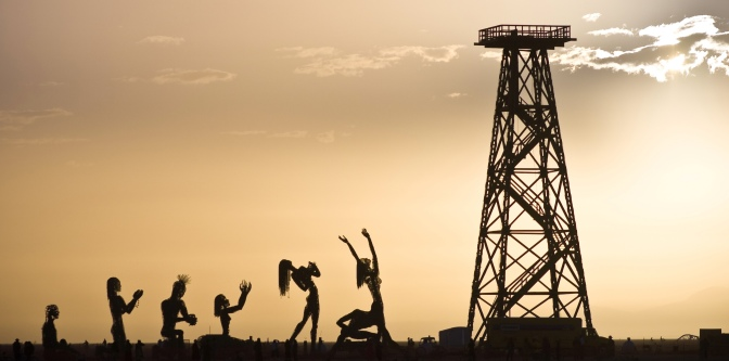 Oil Derrick Worship by Jason Skinner (http://bit.ly/M1GQGT)