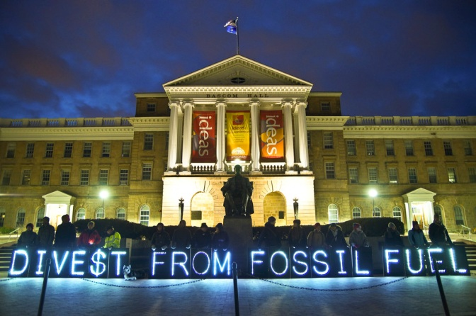 """Divest From Fossil Fuel"" by Light Brigading"