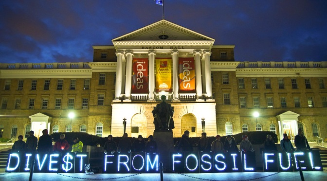 Fossil Fuel Divestment: Climate Proofing Your Finances