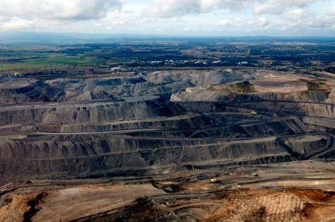 Open cut coal mine - Hunter Valley
