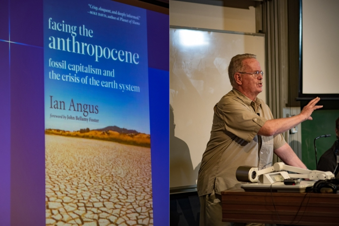 Launch of <em>Facing the Anthropocene</em>